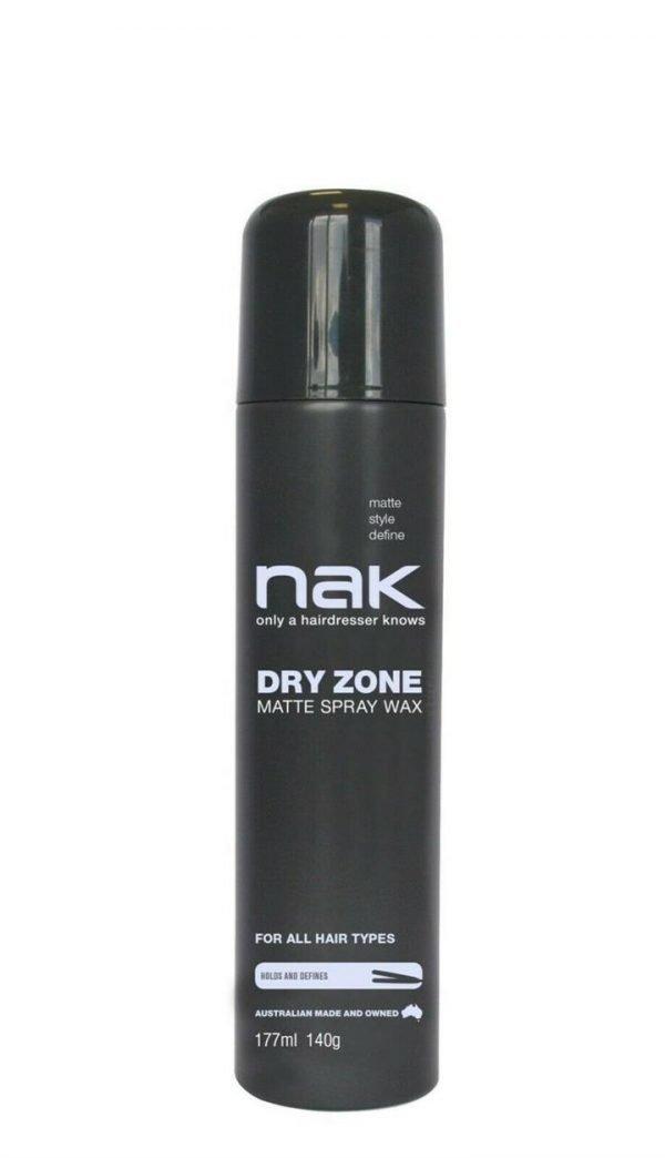 Nak Dry Zone Matte Spray Wax 177ml Old Packaging