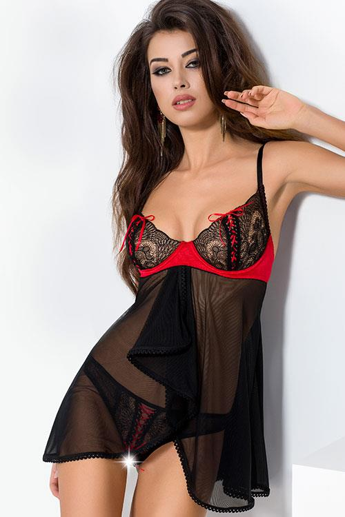 Passion Merry Seductive Babydoll with Thong