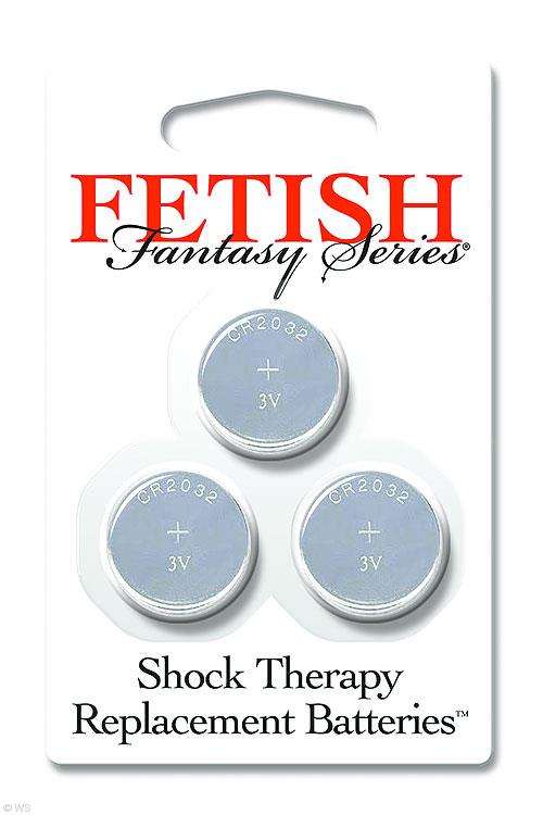 Pipedream Fetish Fantasy Series Shock Therapy Replacement Batteries
