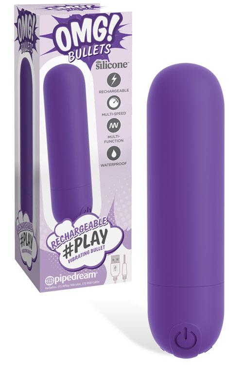 """Pipedream #Play 3"""" Silicone Bullet Vibrator"""
