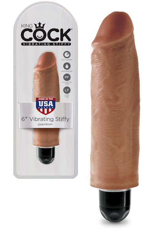 """Pipedream Vibrating 6"""" Realistic Stiffy Dong"""