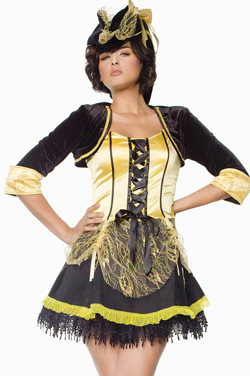 Seven Til Midnight Pirate Lady Costume