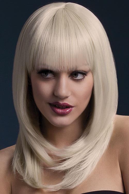 Smiffys Tanja Blonde Layered Wig