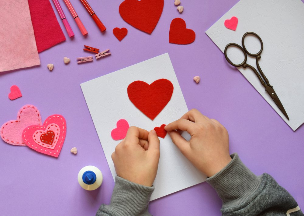 Valentine's Day Craft Ideas To Do With The Kids Valentine's Day Cards