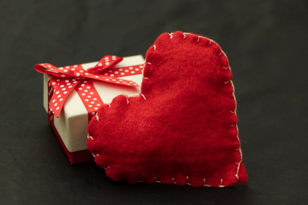 Valentine's Day Craft Ideas To Do With The Kids Stuffed Fabric Heart