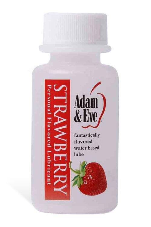 Adam and Eve Sugar-Free Strawberry Water-Based Lubricant (30ml)
