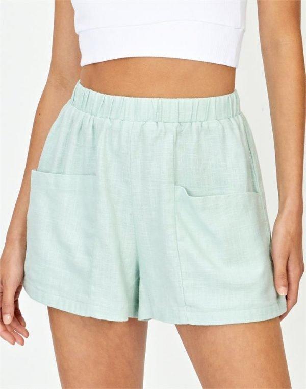 Angled Pocket Short