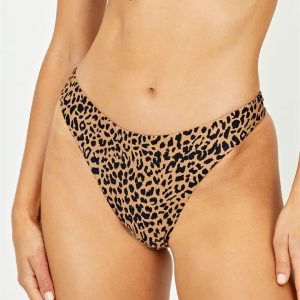 Animal Thong Bikini Bottom