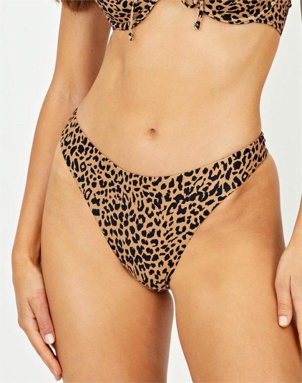 Animal Thong Bikini Bottom