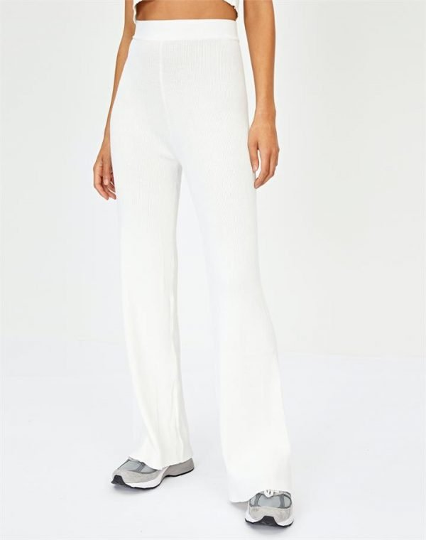 High Rise Ribbed Pant