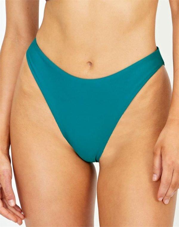 High Waist Cheeky Bikini Bottom