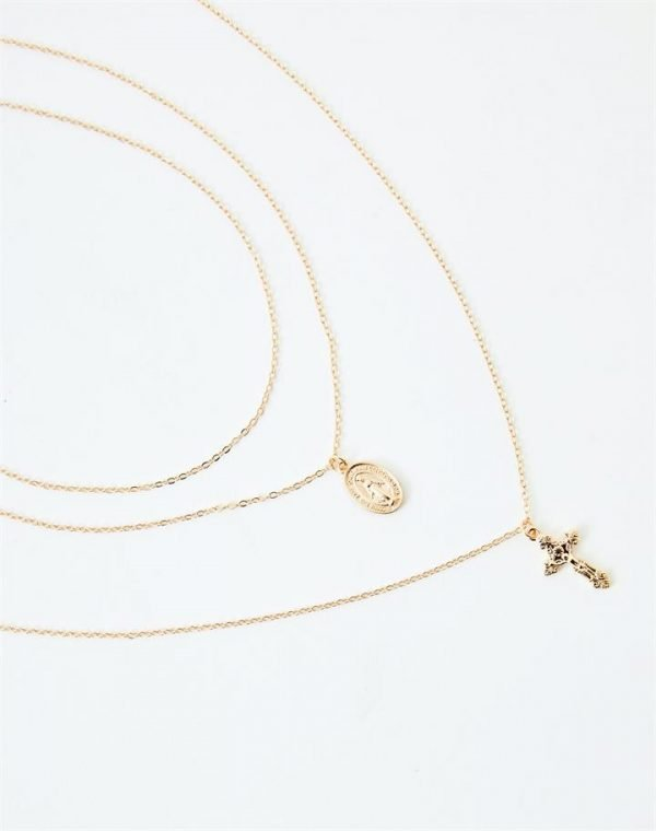 Large Cross Necklace Pack