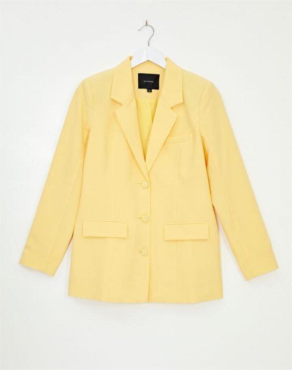 Longline Suit Blazer
