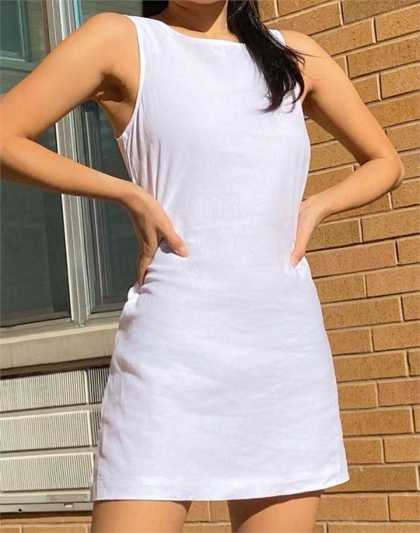 Low Back Shift Dress
