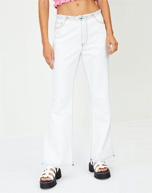 Low Rise Boot Cut Jean