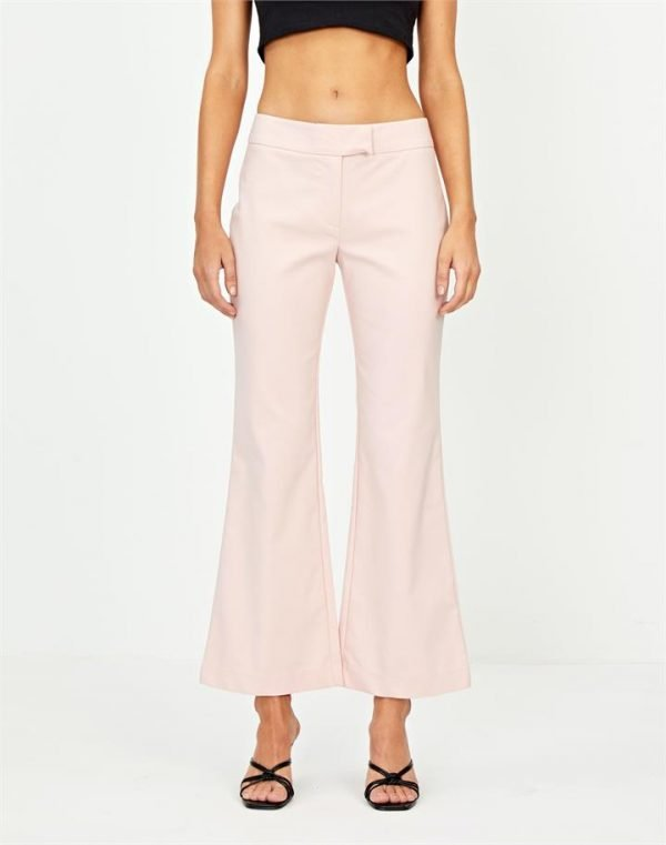 Mid-Rise Flare Pant