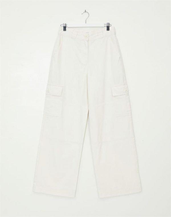 Panel Wide Leg Cargo Pant