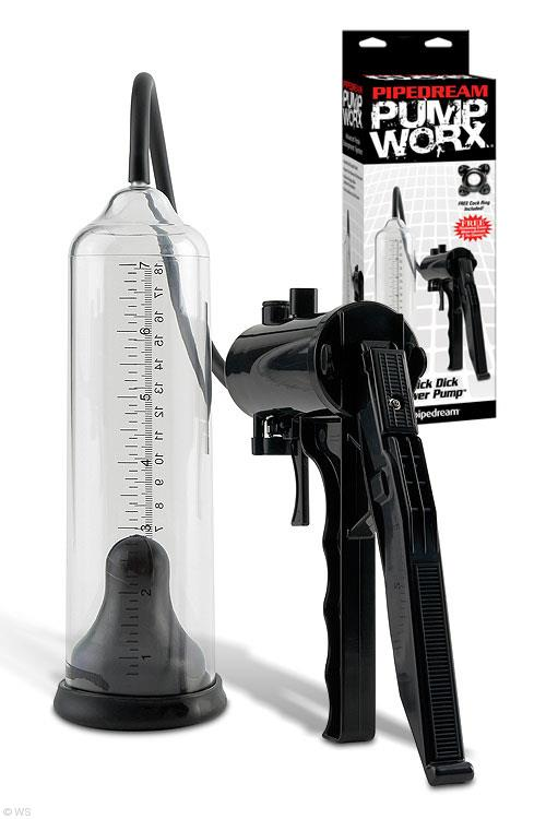 Pipedream Pump Worx Thick Dick Power Pump
