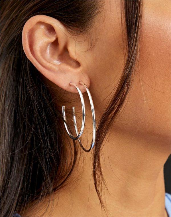 Quarter Hoop Earring Pack