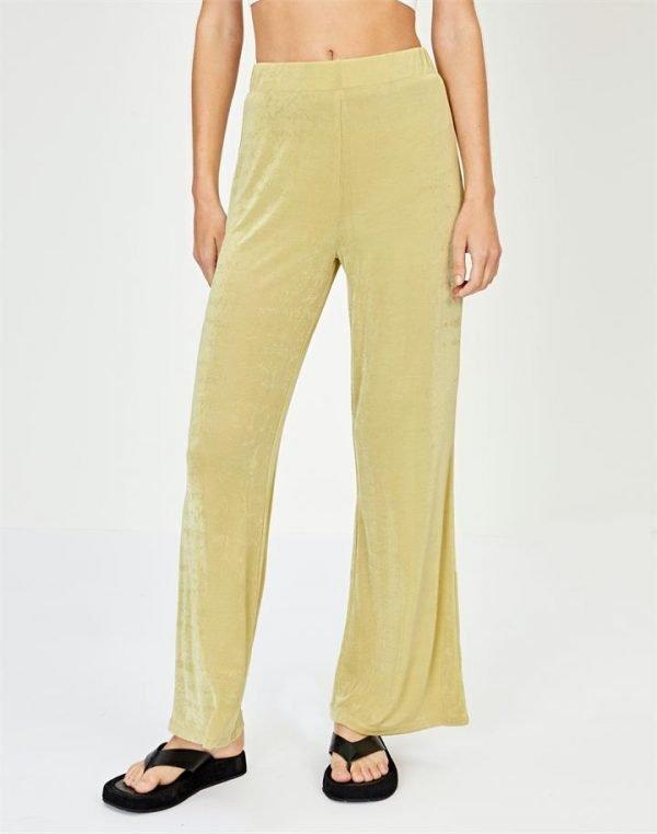 Wide Leg Slinky Pant