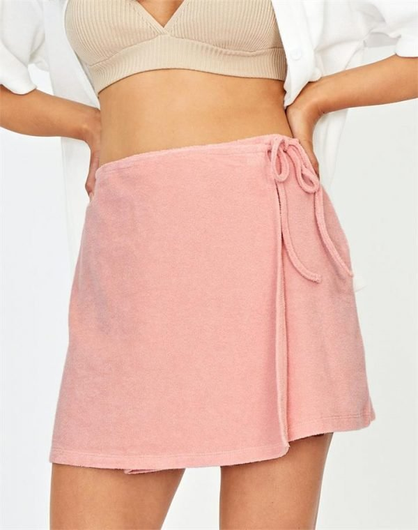 Wrap Towelling Skirt