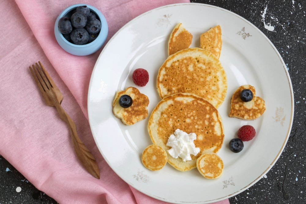 How To Celebrate Easter At Home This Year Make Bunny Pancakes