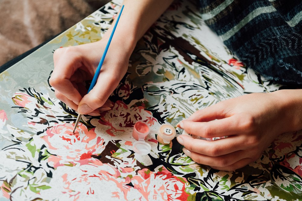 Crafts That Are Easy And Cheap To Start Paint By Numbers