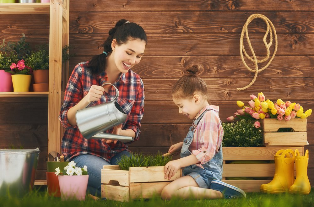 How To Celebrate Easter At Home This Year Plant A Flower Garden