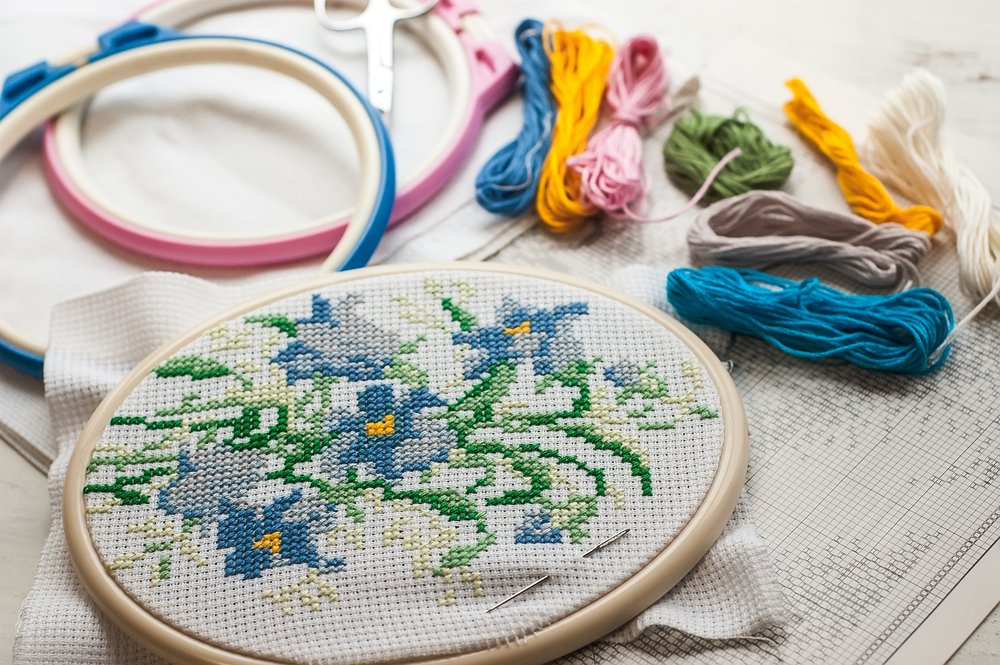 Crafts That Are Easy And Cheap To Start Cross-Stitch