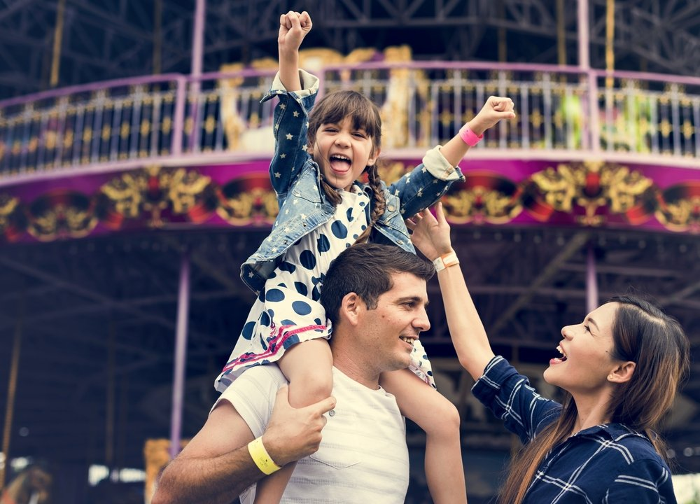 Kid's Party Alternatives For When You Don't Feel like a Big Party Spend A Day At An Amusement Park